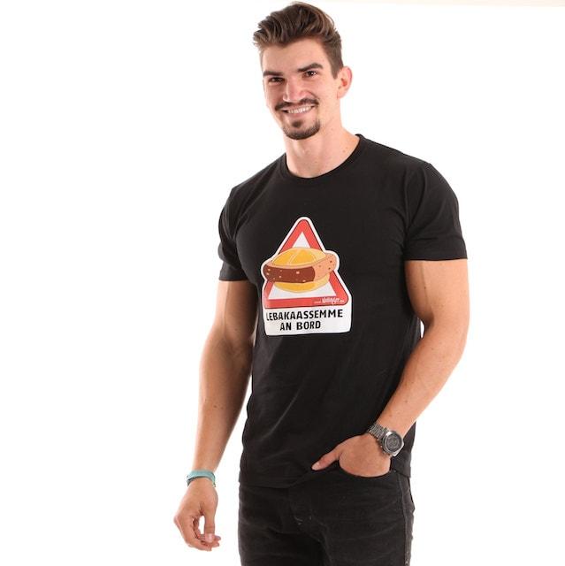 Das Original Nullinger Lebakaassemme An Bord T Shirt