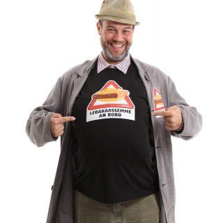 """""""Lebakaassemme an Bord"""" Das original Nullinger T-Shirt"""